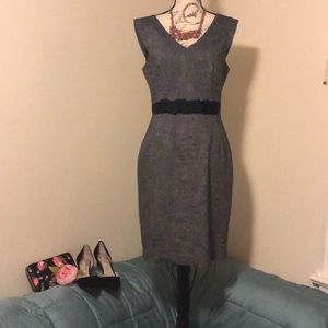 Banana Republic Ribbon Tweed Dress, size 8